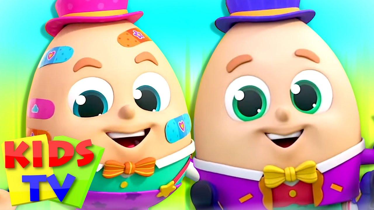 Humpty Dumpty Sat On a Wall | Nursery Rhymes & Kids Songs | Baby Cartoon | Super Supremes | Kids tv