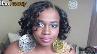 The FAMOUS invisible part- Full Head Sew-in ||DanTemmy