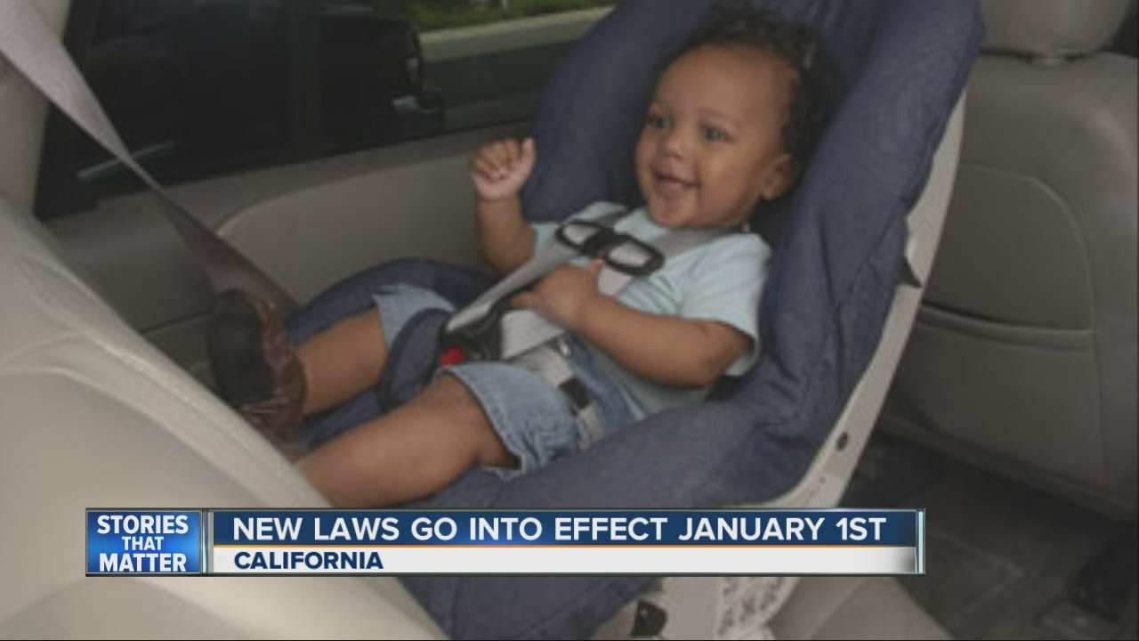 New Laws Will Go Into Effect January 1st In California