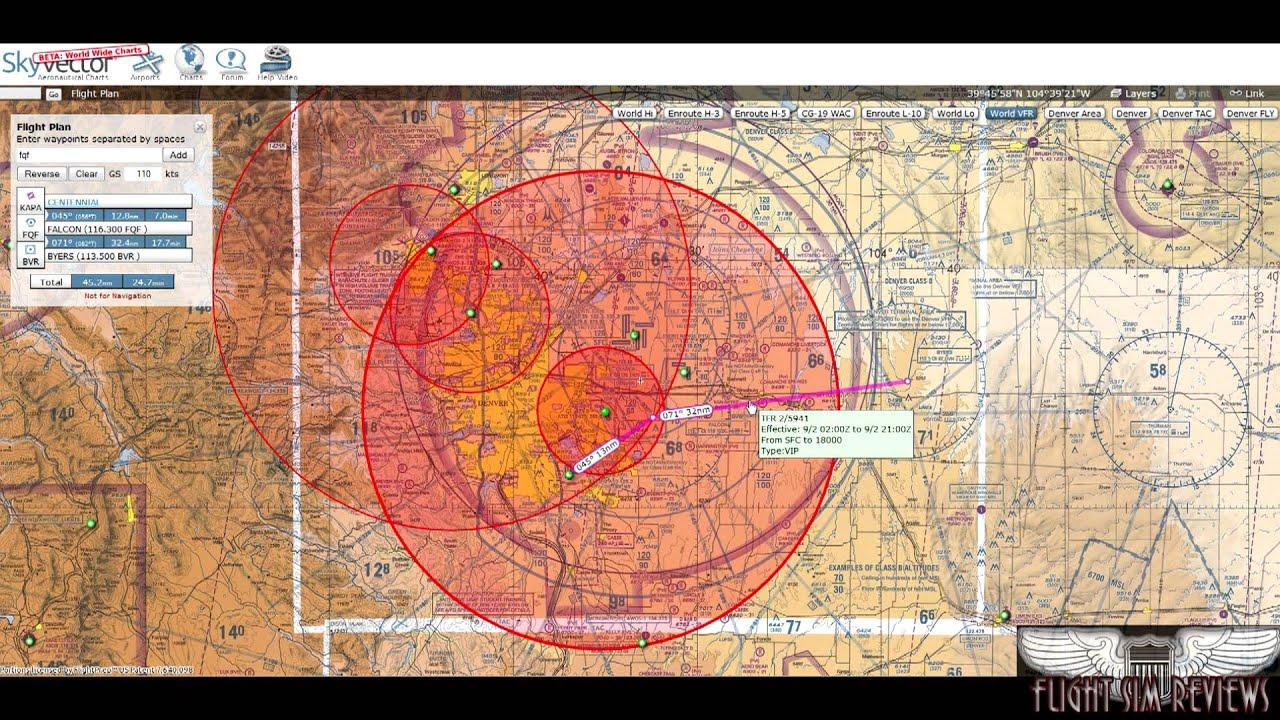 Skyvector flight vfr planning - Skyvector Flight Planner Review Hd