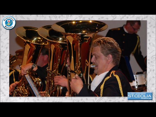 Ros Platenkoffer Harmonie St  Cecilia