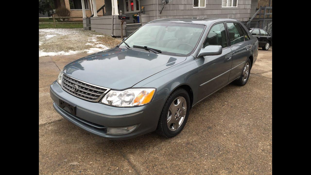 2003 Toyota Avalon XLS Sharp! Elite Auto Outlet Bridgeport Ohio
