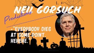 66. Neil Gorsuch - will he stay on even if Trump leaves office?