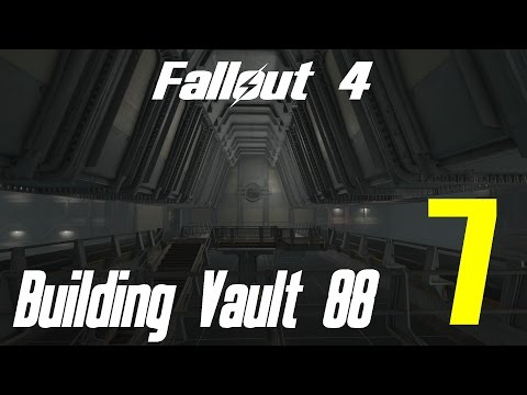 Fallout 4 Let's Play Building Vault 88 Atrium 7 Residential