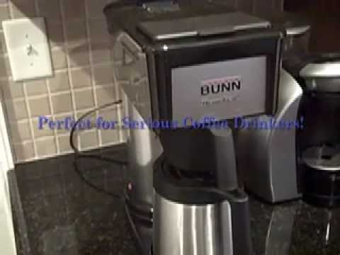 Bunn Bt Velocity Brew 10 Cup Thermal Carafe Home Coffee Brewer Youtube