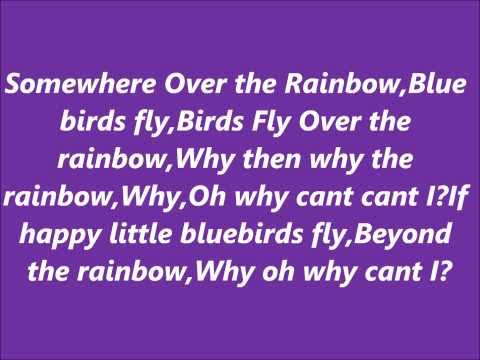 Connie Talbot-Somewhere Over the rainbow with Lyrics