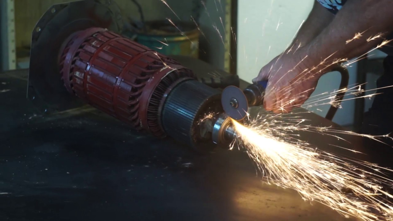 armature bearing removal lincoln arc welder [ 1280 x 720 Pixel ]