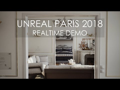 Unreal Paris 2018 - Realtime UE4 Demo - UHD