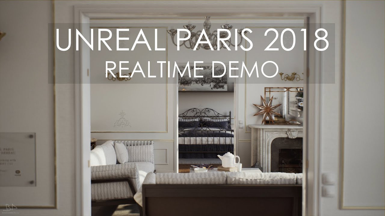 Dereau Benoît Portfolio - Archiviz - Virtual Reality