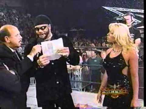 Randy Macho Man Savage on the mic in WCW with Ric Flair