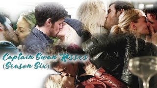 • OUAT - Captain Swan Kisses (Season Six) •