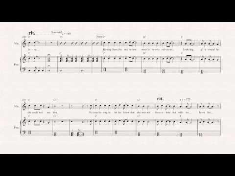 Violin - Lava - Disney - Sheet Music, Chords, & Vocals