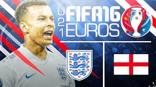 Knockout rounds begin! fifa 16 euro u21 youtuber tournament vs rich leigh