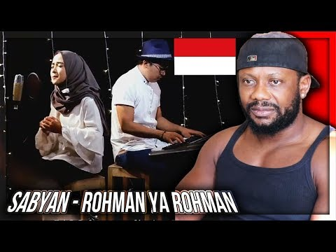 ROHMAN YA ROHMAN COVER BY SABYAN - INDONESIAN MUSIC REACTION!!!