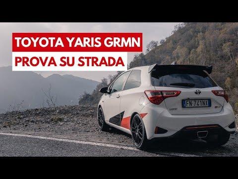 Toyota Yaris GRMN   Prova su Strada della piccola e cattivissima sportiva da 212 Cv