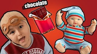 Johny Johny Yes Papa Nursery Rhymes Song, Funny video for kids, by Mami and Brothers