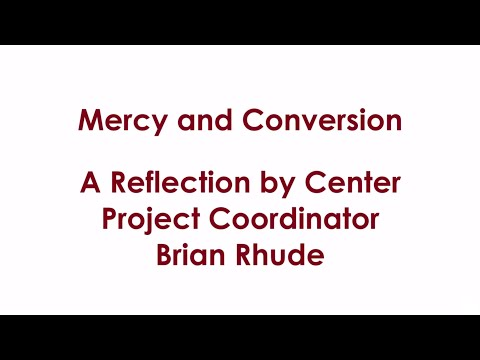 Mercy and Conversion