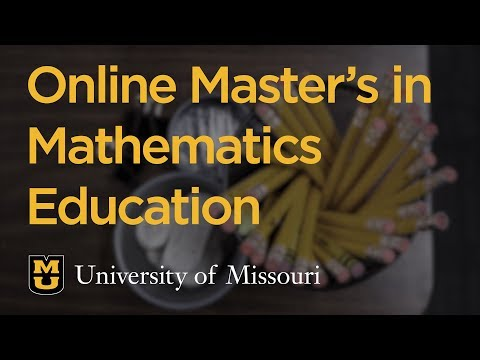 Math Education: Online Master's Degree