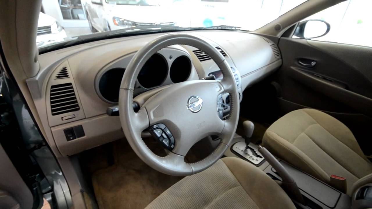 2002 nissan altima 2 5 s stk 23106sa for sale at trend. Black Bedroom Furniture Sets. Home Design Ideas