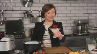 Рецепт йогурта в мультиварке BORK U800 от Елены Чекаловой