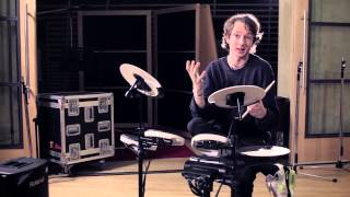 Alt-J: drummer Thom Green on the Roland TD-4KP V-Drums Portable