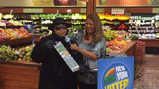Syracuse woman wins $10 million on New York Lottery scratch-off ticket