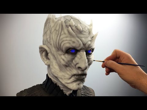 The Night King Sculpture Timelapse - Game Of Thrones