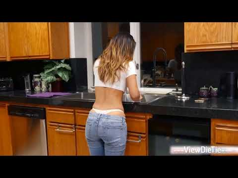 Eva Lovia in Kitchen || Everyone Needs Best Friend Like Her ||