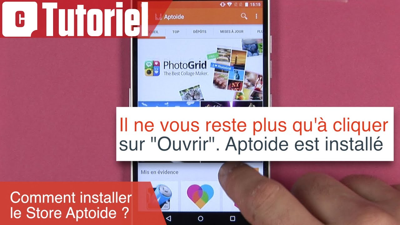 Tuto : comment installer le store Aptoide sur Android  #Smartphone #Android