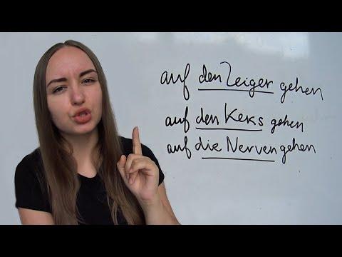 10 немецких слов на каждый день Auf den Keks gehen, auf dem Schirm haben