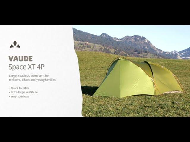 Instruction Manual Space XT 4P   VAUDE