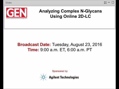 Analyzing Complex N-Glycans Using Online 2D-LC