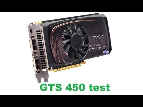 Очень дешёвая игровая видеокарта GTS 450, тест в новых играх!