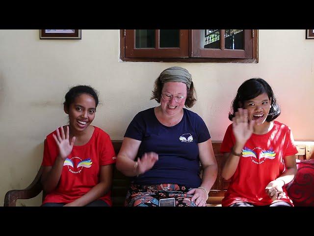 Een nieuw interview met deze keer twee meisjes van het Garuda House; Vial en Nancy.
