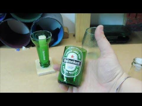 Tagliare Bottiglia Vetro.Ecco Come Tagliare Le Bottiglie Di Vetro