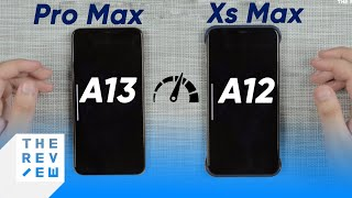 Speedtest iPhone 11 Pro Max vs iPhone Xs Max: Apple A13 vs Apple A12