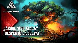 UN ÁRBOL cobró vida y atacó a los LEÑADORES que intentaban derribarlo, Leyendas del Amazonas