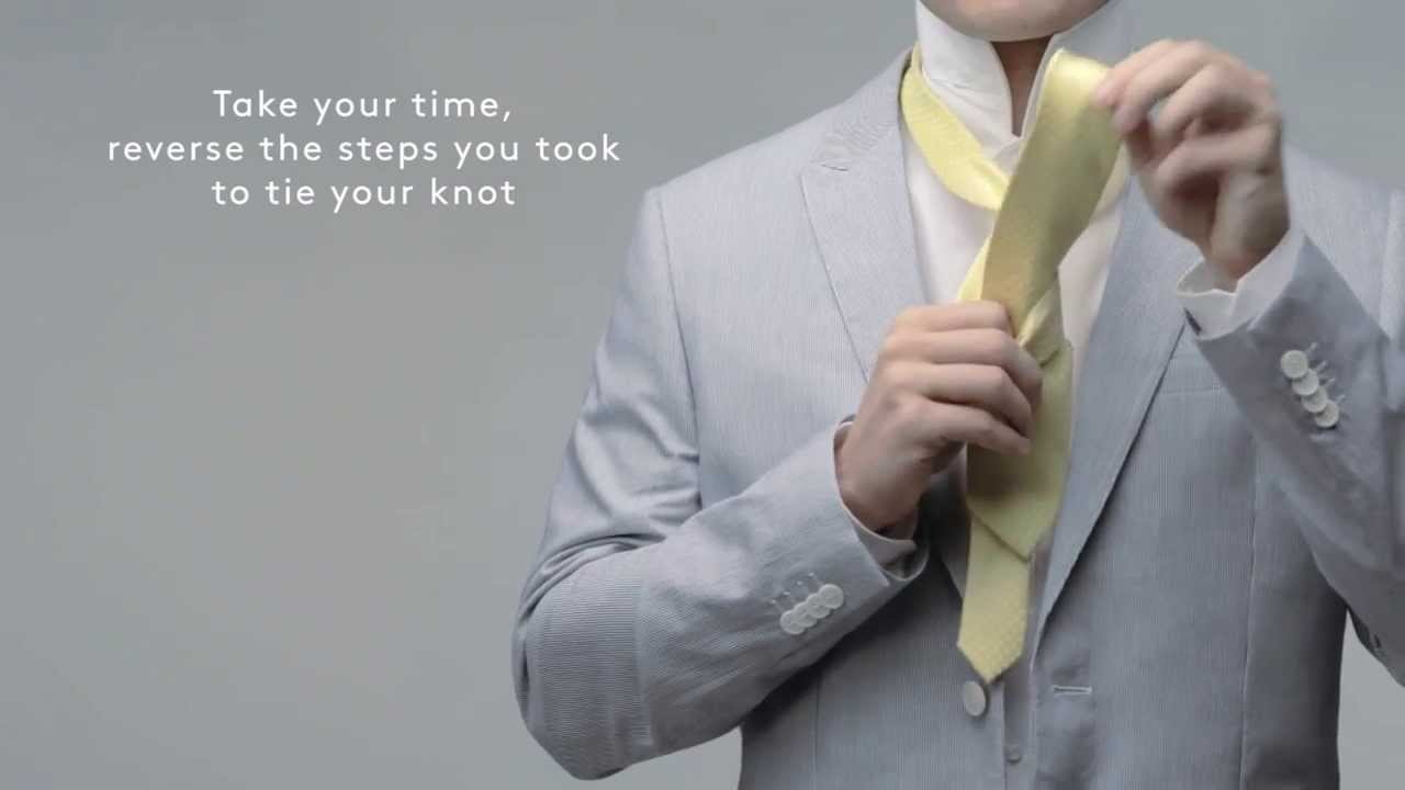 How To: Tie A Tie  Four In Hand Or School Boy
