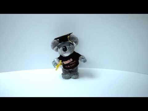 Musical Koala Fied Grad Singing Plush Toy