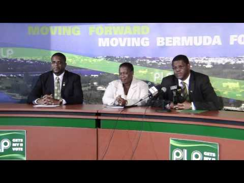 PLP Confirm Candidates Michael Weeks & Terry Lister Bermuda Apr 12 2012