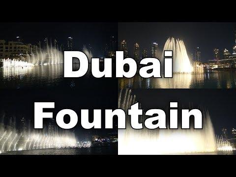 Dubai Fountain Hero Spanish version  Enrique Iglesias