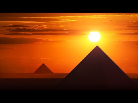 Relaxing Egyptian Music - Sunset Over The Pyramids | Soothing, Mystical, Beautiful ★18