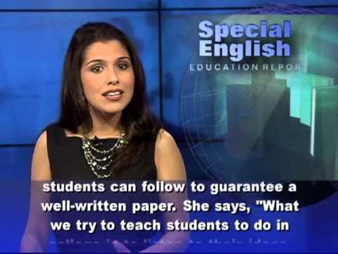 VOA special English - Education report -  Học nghe tiếng Anh có phụ đề