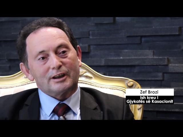 Report TV - Zef Brozi: Ja kur nisi Berisha të shkatërrojë Drejtësinë shqiptare