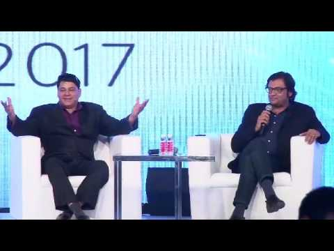 Arnab speaks to Cyrus Broacha at NetApp Innovation Awards 2017
