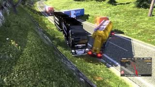 ETS2 - AI traffic collision
