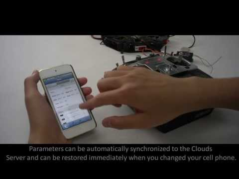 DJI WooKong-M  Assistant Software For IPhone
