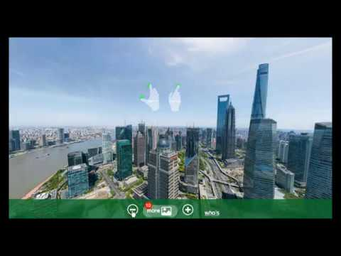 Stunning Panoramic image of Shanghai at 195 Billion pixels