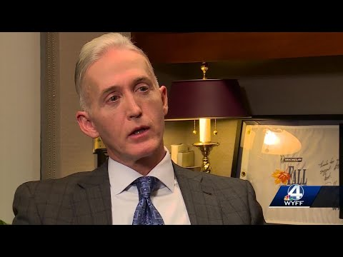 Former Rep. Trey Gowdy looks back at 8 years in congress
