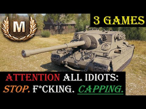 World Of Tanks || Xbox One || Turtle Mk. I || 3 Games + Capping Complaints